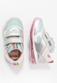Geox - TODO GIRL - Zapatillas - silver/aqua - 1