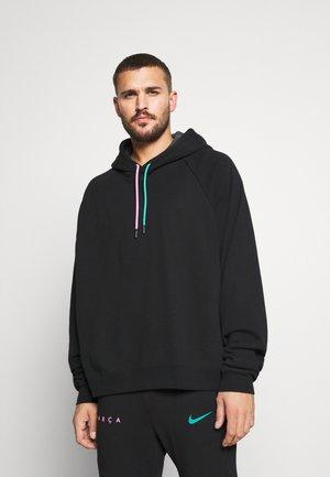 FC BARCELONA HOODIE - Sweater - black/anthracite