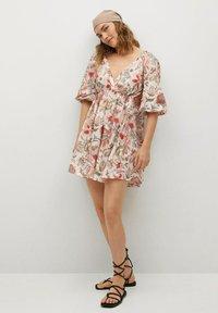 Mango - Day dress - ecru - 1