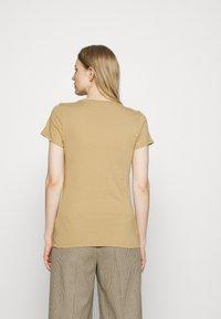 GAP - FRANCHISE TEE 2 PACK - T-shirt print - mojave - 3