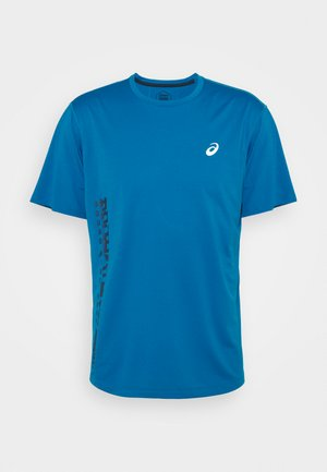 RUN - Print T-shirt - reborn blue/french blue