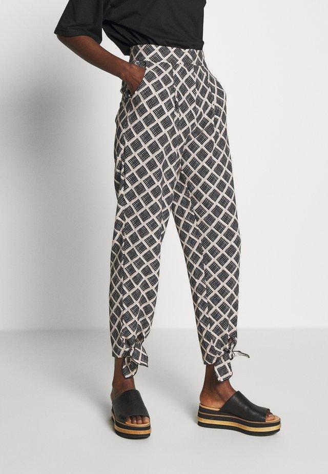 ALISA - Trousers - black