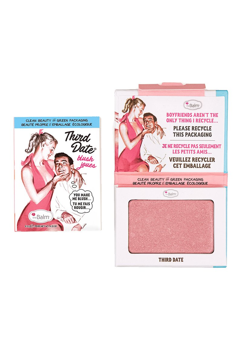 the Balm - THIRD DATE BLUSH - Blush - matte peach