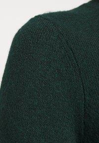 ONLY - ONLELENA DRESS - Jumper dress - green gables/black melange - 6