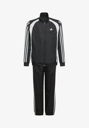 WOVEN TRACKSUIT - Tracksuit - black