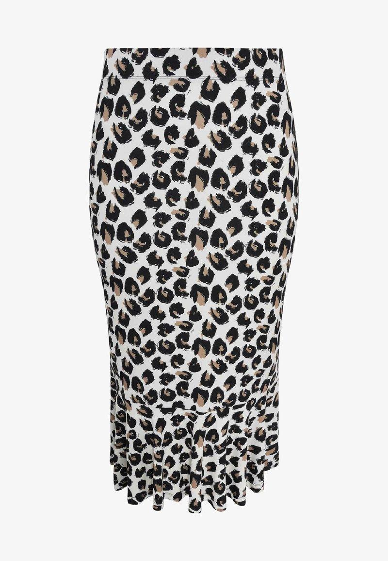 Yoek - Pencil skirt - brown