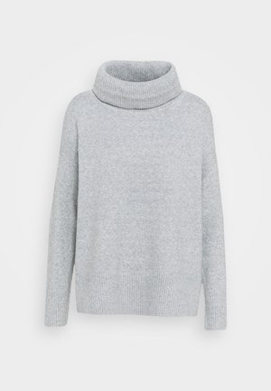 VMDOFFY COWLNECK - Jumper - light grey melange