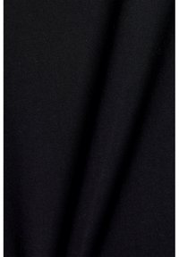 Esprit Collection - PADDED TEE - Basic T-shirt - black - 4