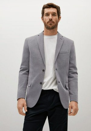 SANDAY - Blazer jacket - grau