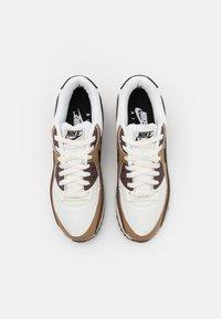 Nike Sportswear - AIR MAX 90 - Trainers - dark driftwood/black/sail/light chocolate/white - 3