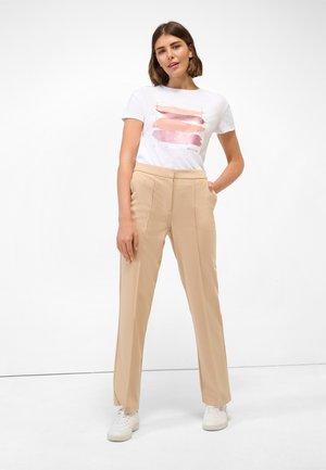 Trousers - beige caro