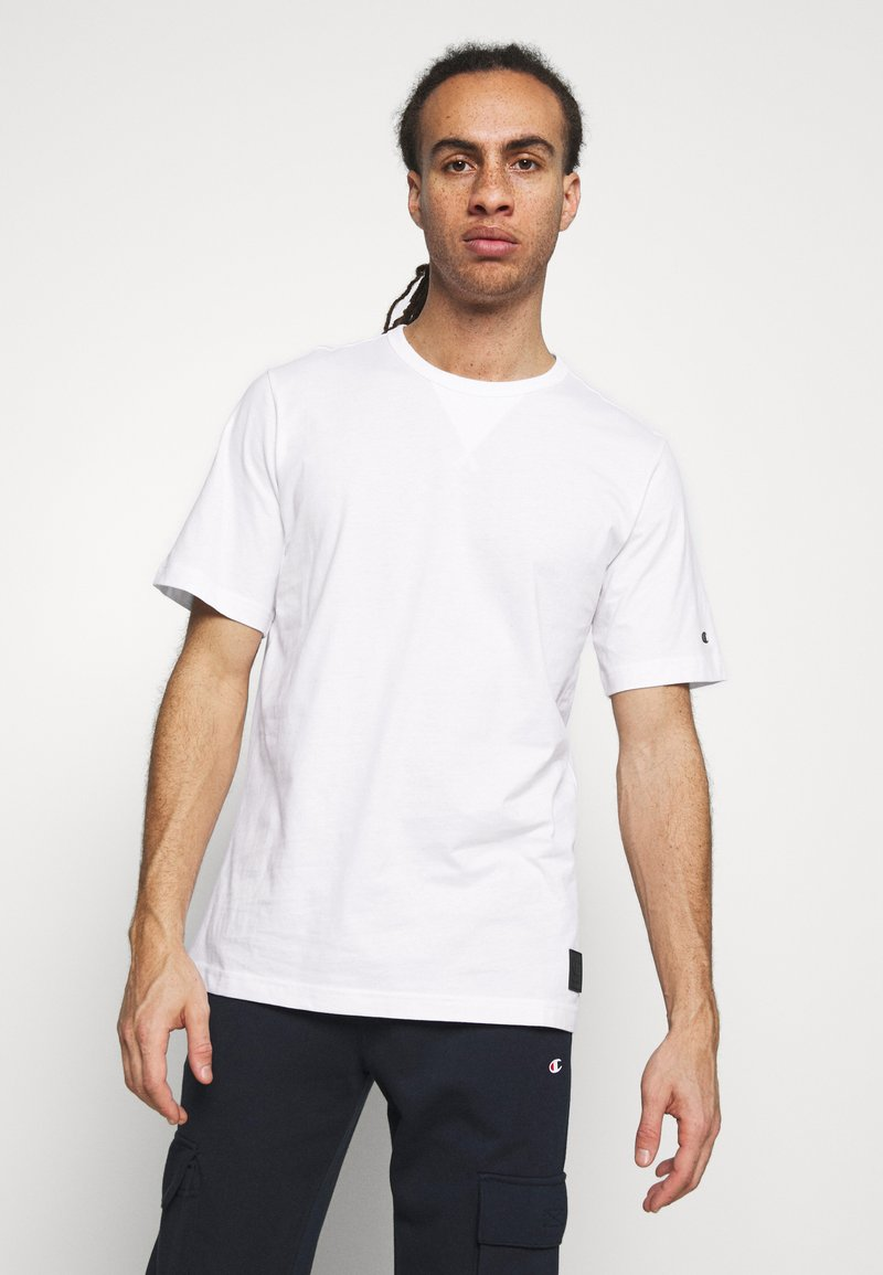 Champion - LEGACY CONTEMPORARY MODERN CREWNECK  - T-shirt basic - white