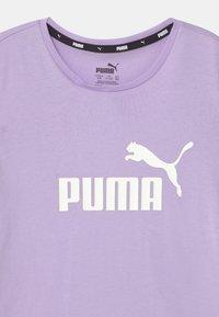 Puma - LOGO UNISEX - Print T-shirt - light lavender - 2