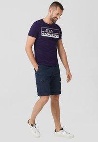 s.Oliver - Print T-shirt - purple - 1