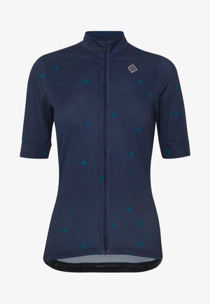 VELOZIP - T-shirt con stampa - peacoat