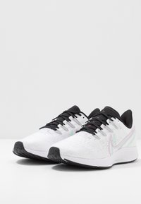 Nike Performance - AIR ZOOM PEGASUS - Neutral running shoes - white/iced lilac/black/pistachio frost/noble red - 2