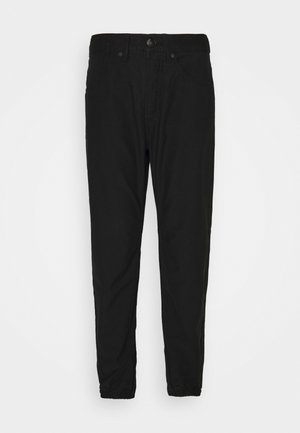 ENGINEERED JOGGER LABEL - Trousers - black