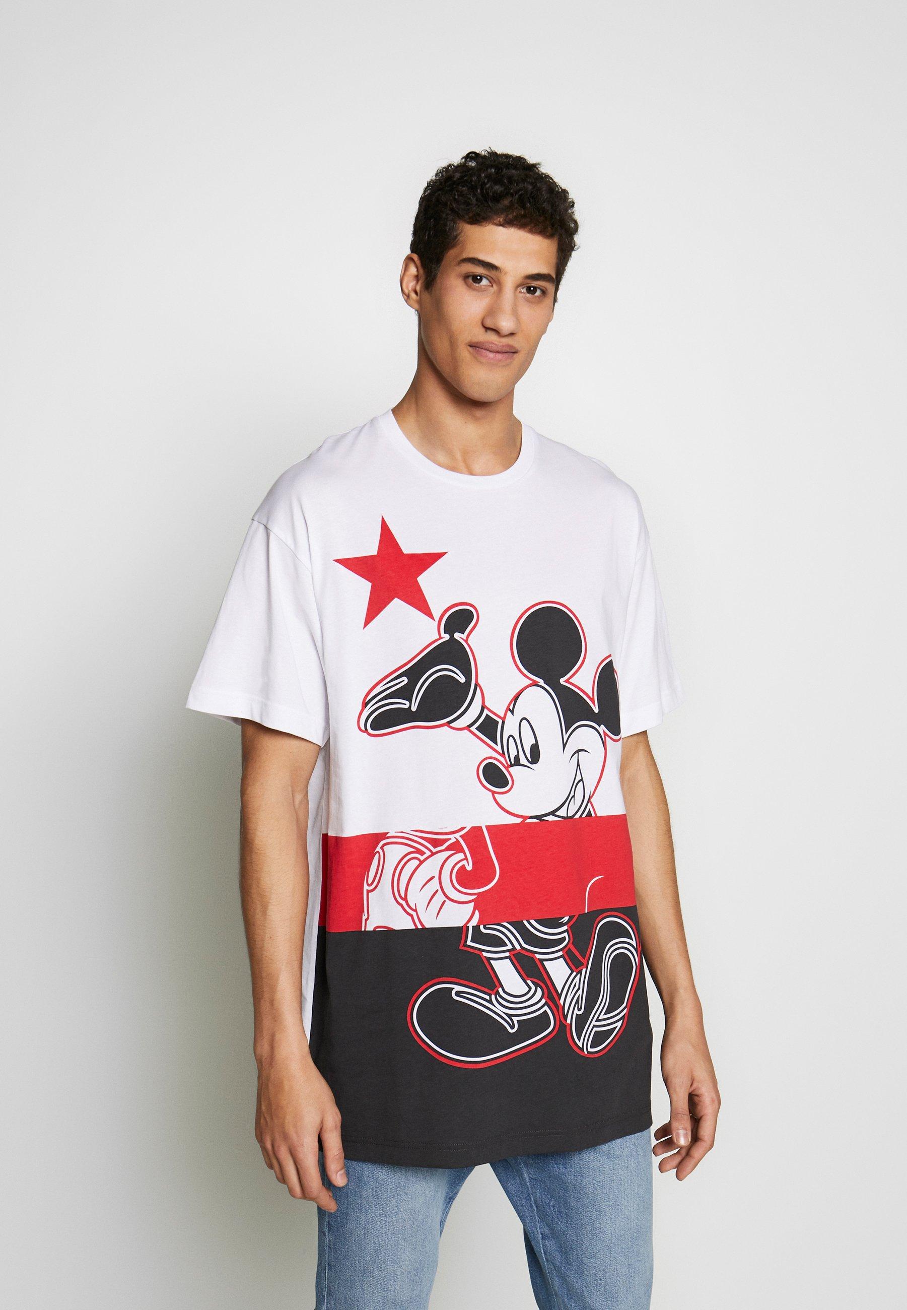 Zakup Gorąca wyprzedaż Iceberg MICKEY MOUSE - T-shirt z nadrukiem - bianco ottico | Odzież męska 2020 wcet7