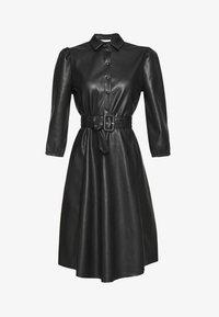 Vila - VIDARAS 3/4 DRESS - Košilové šaty - black - 5