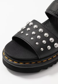 Dr. Martens - VOSS STUD - Platform sandals - black - 2