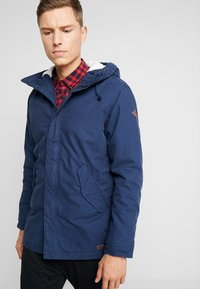 Produkt - PKTAKM PARKA TEDDY JACKET - Parka - dress blues - 3