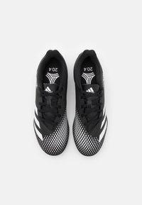 adidas Performance - PREDATOR 20.4 FOOTBALL BOOTS TURF - Voetbalschoenen voor kunstgras - core black/footwear white - 3