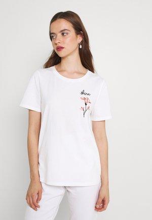 VISHINE EMBROIDERY  - T-shirt print - snow white