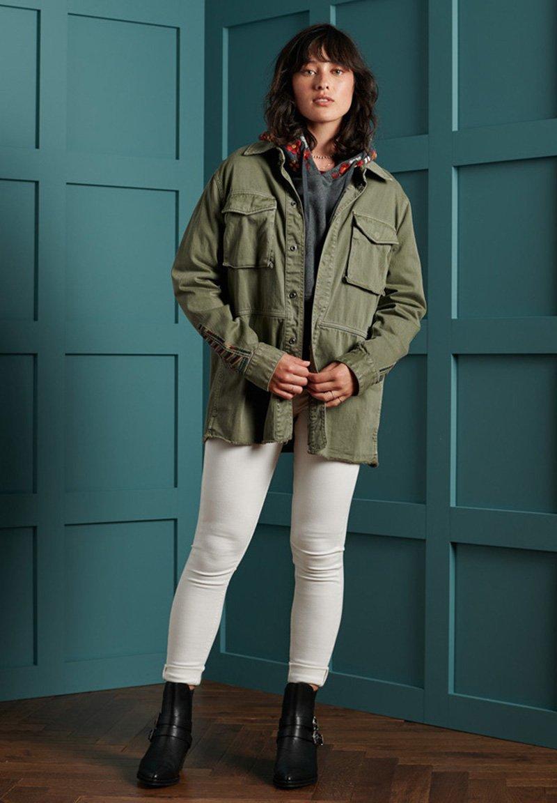 Superdry - BOHO ROOKIE - Light jacket - sage khaki
