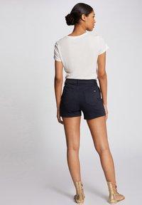 Morgan - Denim shorts - dark blue - 2