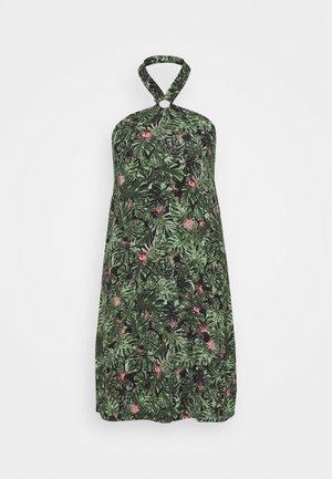 Jersey dress - multicoloured