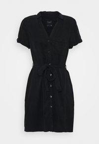 Abercrombie & Fitch - Abito a camicia - black - 3