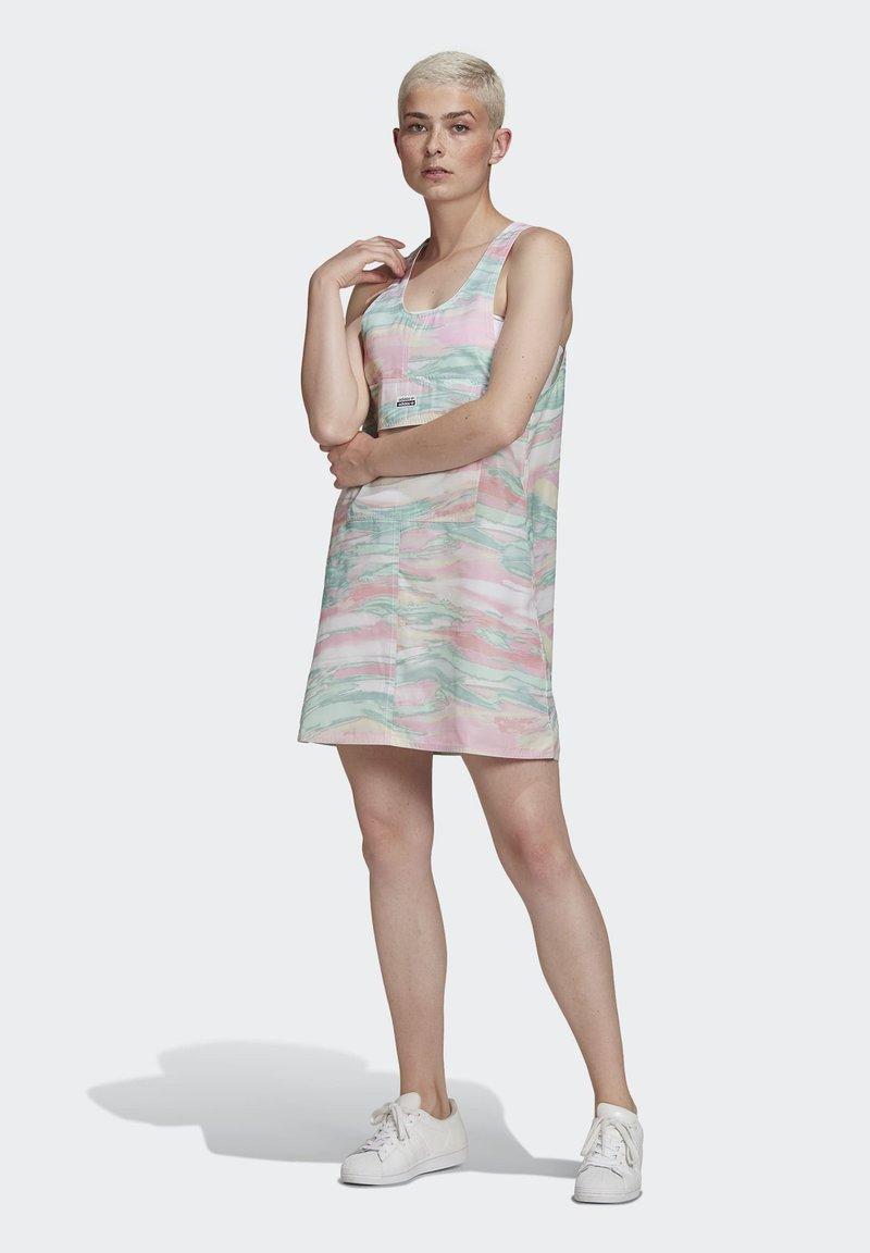 adidas Originals - Shirt dress - multicolor
