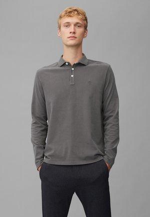 Polo shirt - gray pinstripe