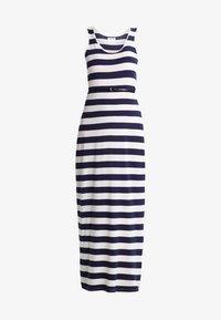 Zalando Essentials - Maxi dress - navy/off-white - 6