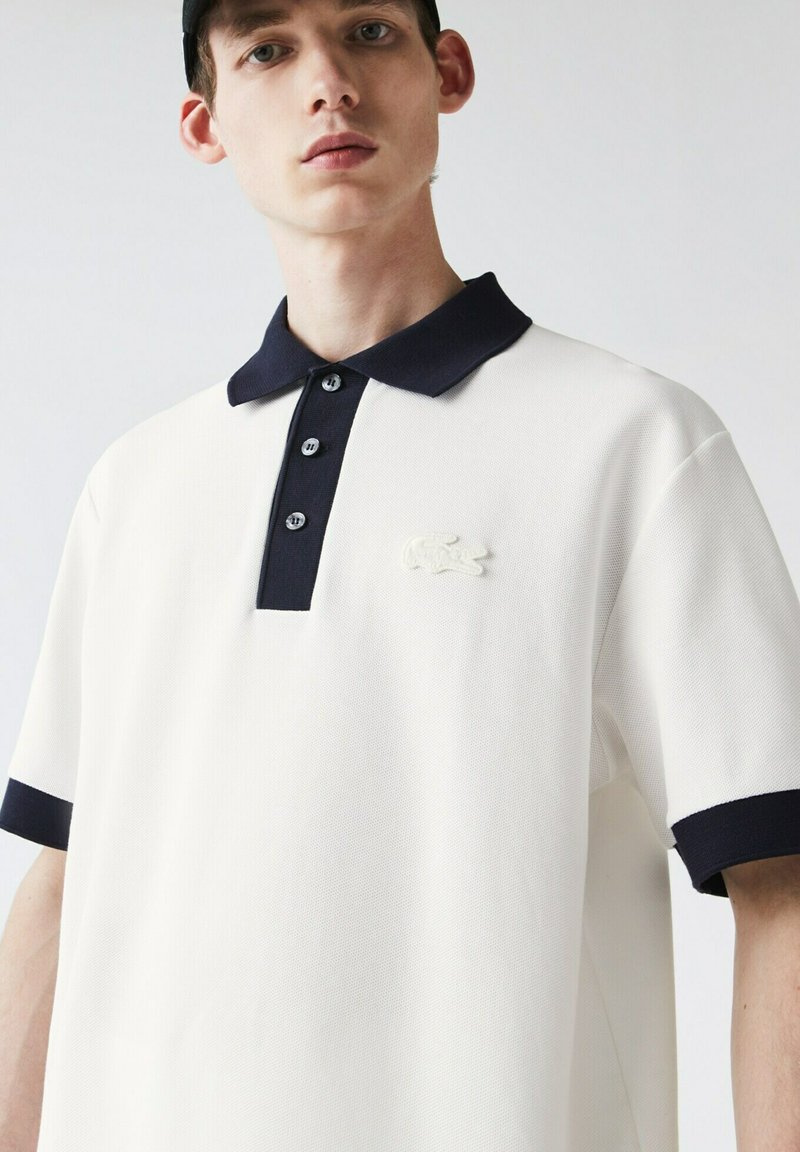 Lacoste - PH0029 - Polo shirt - blanc / bleu marine