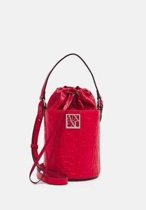 BUCKET - Handtasche - rosso