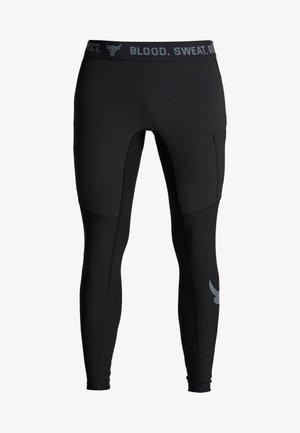PROJECT ROCK - Leggings - black/pitch gray