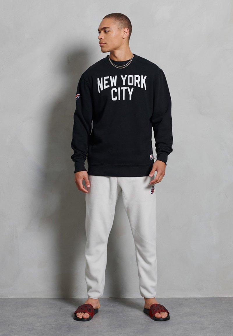 Superdry - CITY COLLEGE - Sweatshirt - black