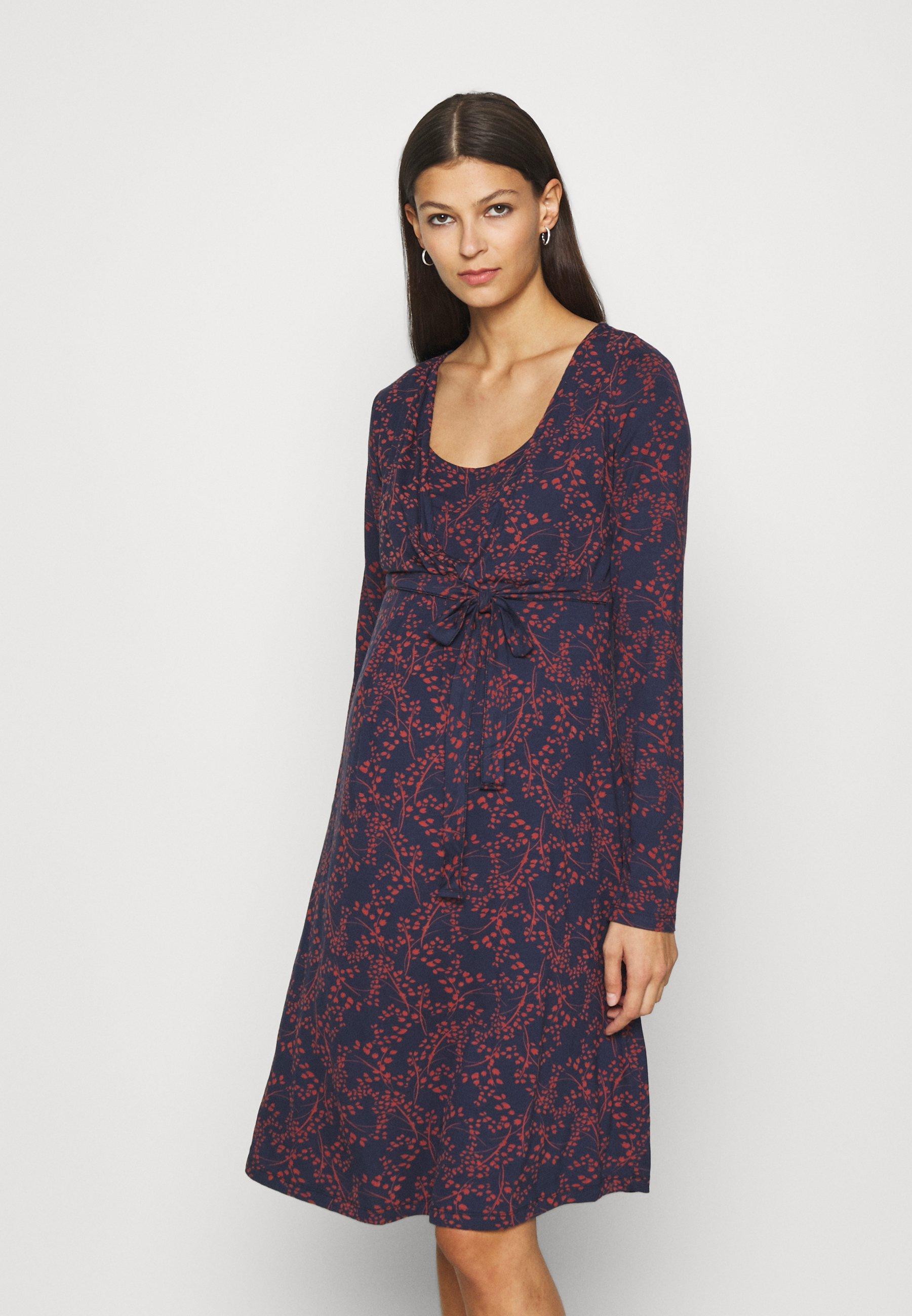 Damen LEAF MATERNITY & NURSING FIXED WRAP DRESS - Jerseykleid