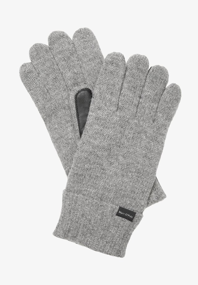 Gloves - grey melange