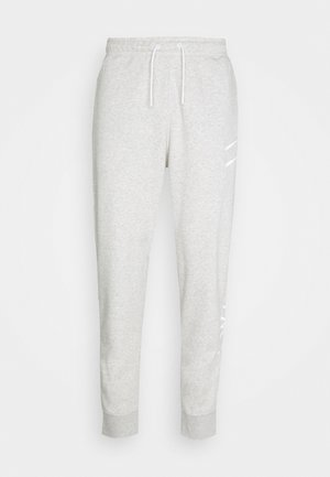 PANT - Tracksuit bottoms - grey heather/(white)