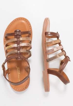 MONGUE - Sandals - tan/or