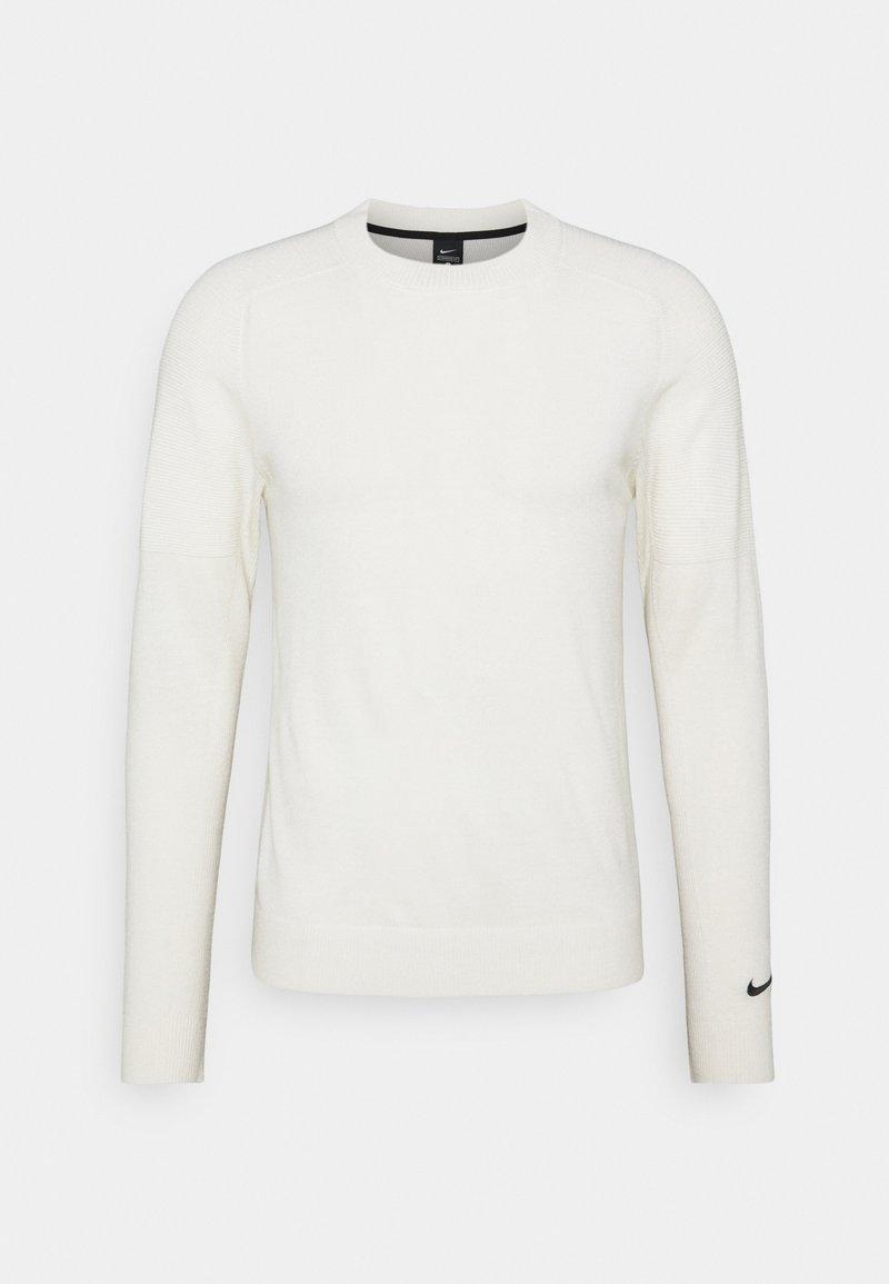 Nike Golf - TIGER WOODS CREW  - Sweter - summit white/black