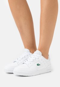 Lacoste - COURT CAGE  - Baskets basses - white - 0