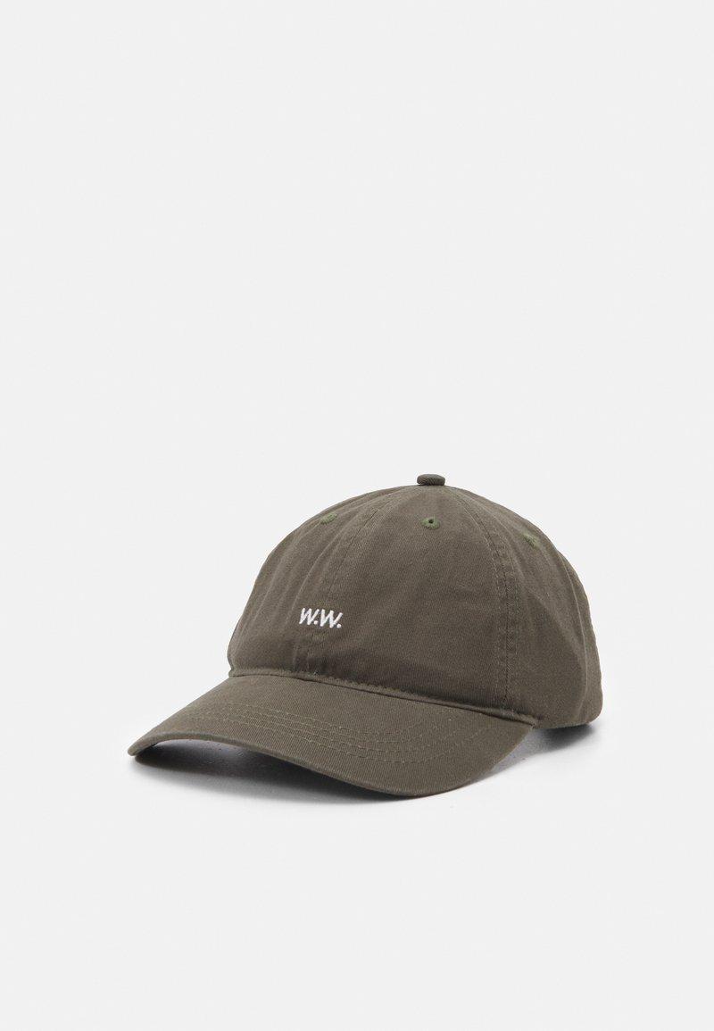 Wood Wood - LOW PROFILE UNISEX - Cap - dusty green