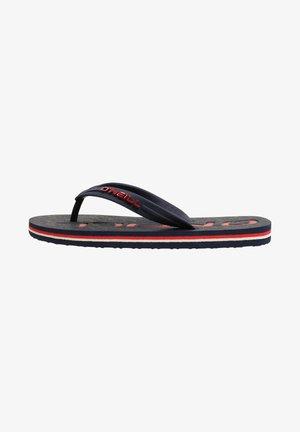 FOOTWEAR PROFILE - T-bar sandals - ink blue