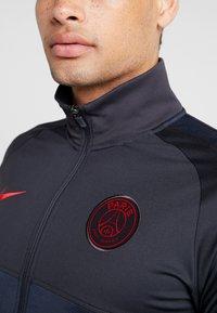 Nike Performance - PARIS ST GERMAIN DRY  - Klubbkläder - oil grey/obsidian/university red - 4
