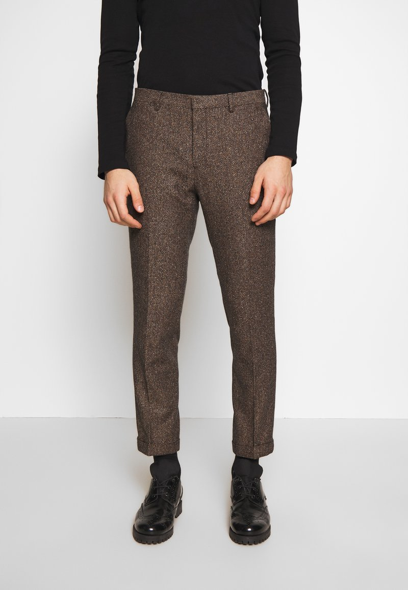 Shelby & Sons - BARAH TROUSER - Trousers - brown