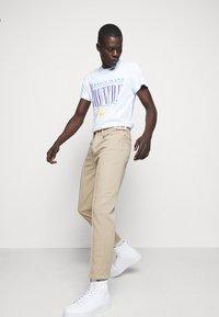 Versace Jeans Couture - GABARDINE TRUE - Kangashousut - lark - 3