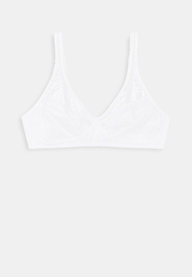 GENEROUS WIRELESS BRA - Trojúhelníková podprsenka - white